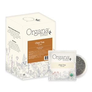 Organa Chai Tea Pods - 18 CT