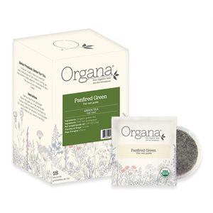 Organa Panfired Green Tea Pods - 18 CT