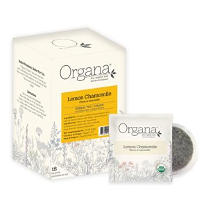 Organa Chamomile Lemon Pods - 18 CT