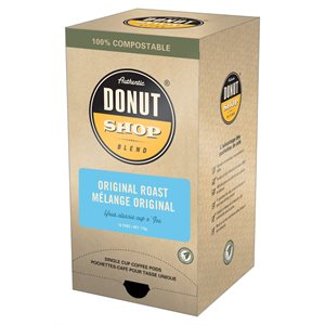 Donut Shop Blend™ Original Roast Pods 11g - 16 CT